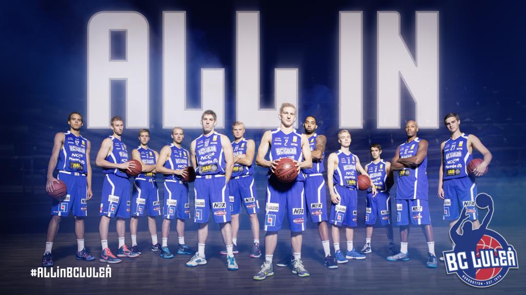 BC Luleå - Jämtland Basket. 20 november, uppkast kl 19.04