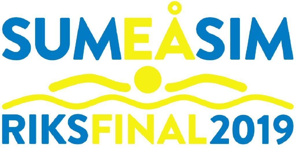 Sum-Sim riksfinal 2019 söndag 09:00