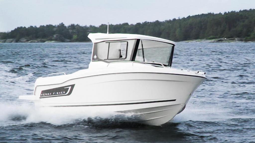 Jeanneau Merry Fisher 605 Marlin – en fena på fiske!