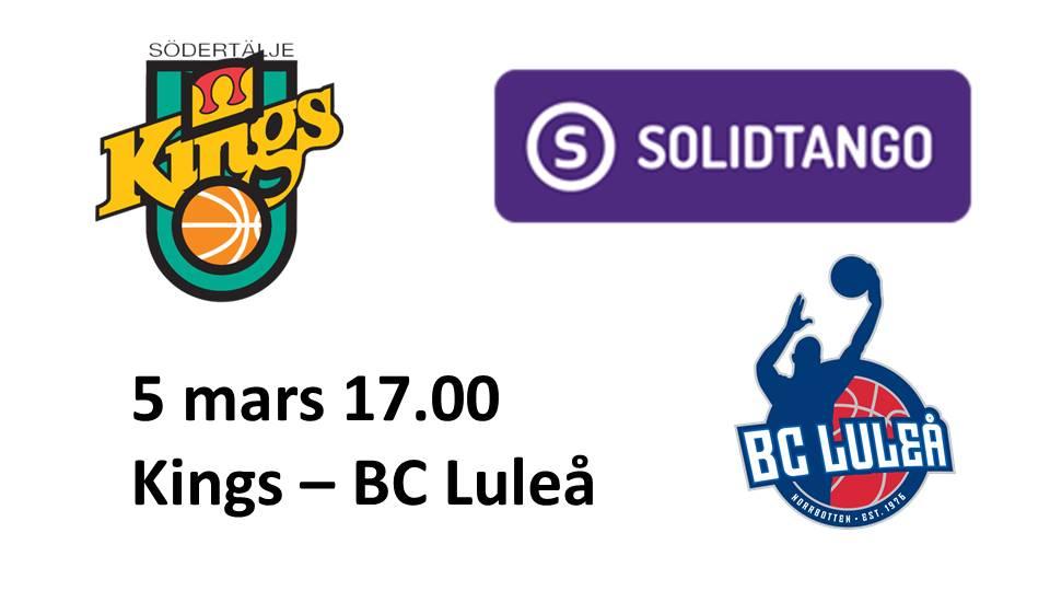Södertälje Kings - BC Luleå