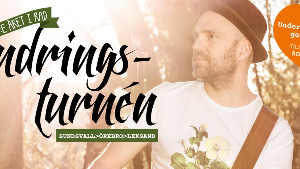 LIVE! Vandringsturnén 2016, Dag 40 FINALEN: Korstäppan, Leksand 20.00