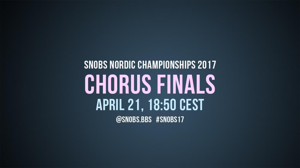 Chorus Finals 2017