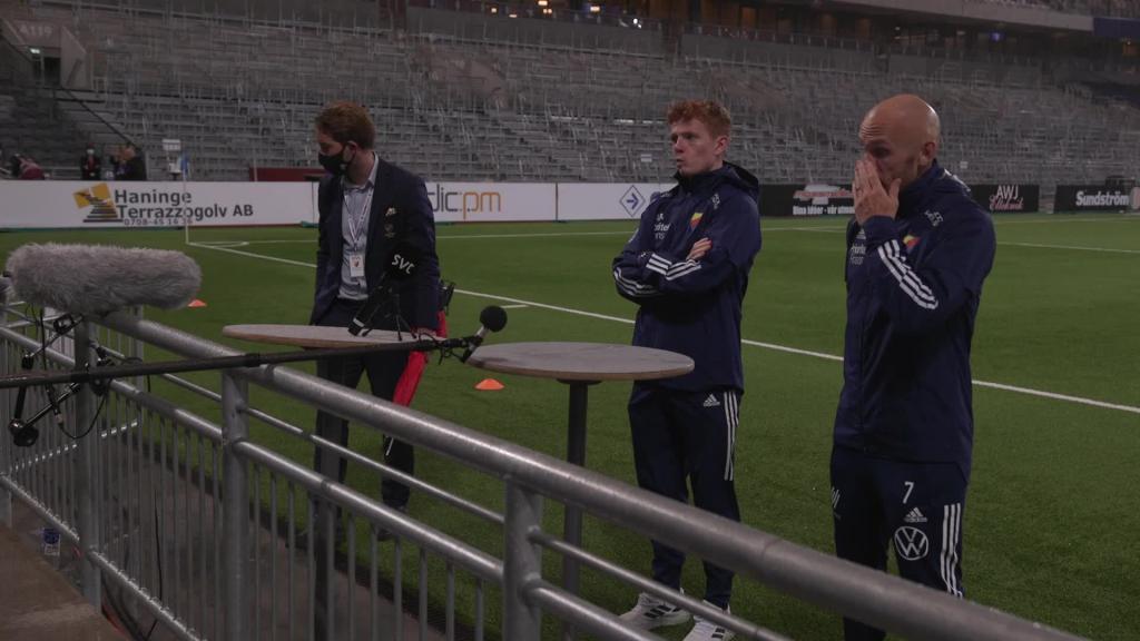 Presskonferens med Magnus Eriksson och Aslak Vitry