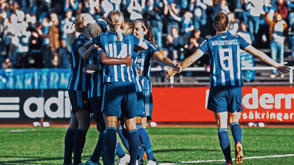 Highlights Djurgården-Hammarby 2-1 OBOS Damallsvenskan 2021