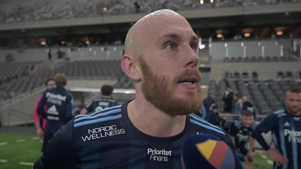 Intervjuer efter tävlingsstarten