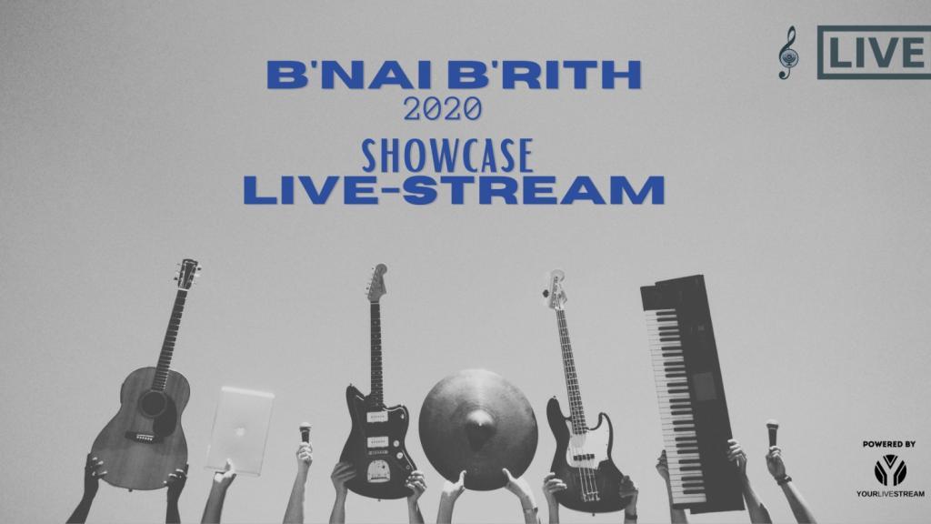B'nai B'rith Victoria Online Showcase 2020 - Finals Concert - Live-stream