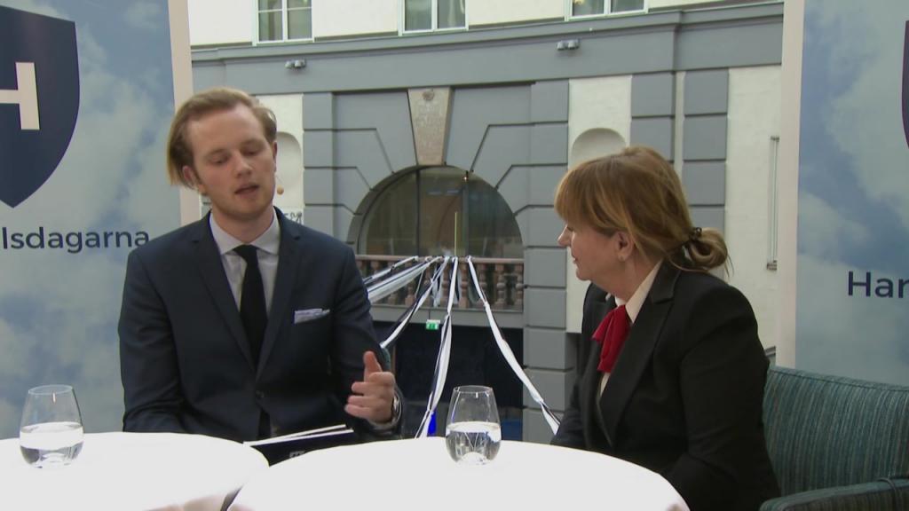 Intervju med Malou von Sivers - Handelsdagarna 2018