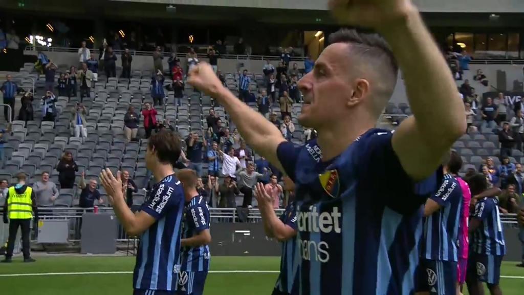 Djurgården - Hammarby 4-1 – se hela matchen igen