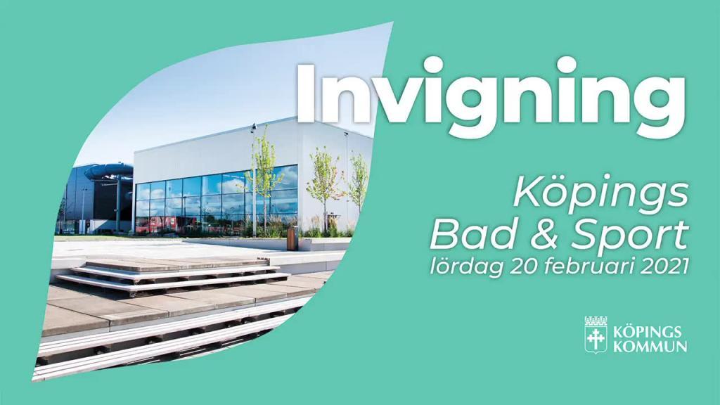 Invigning Köpings Bad & Sport