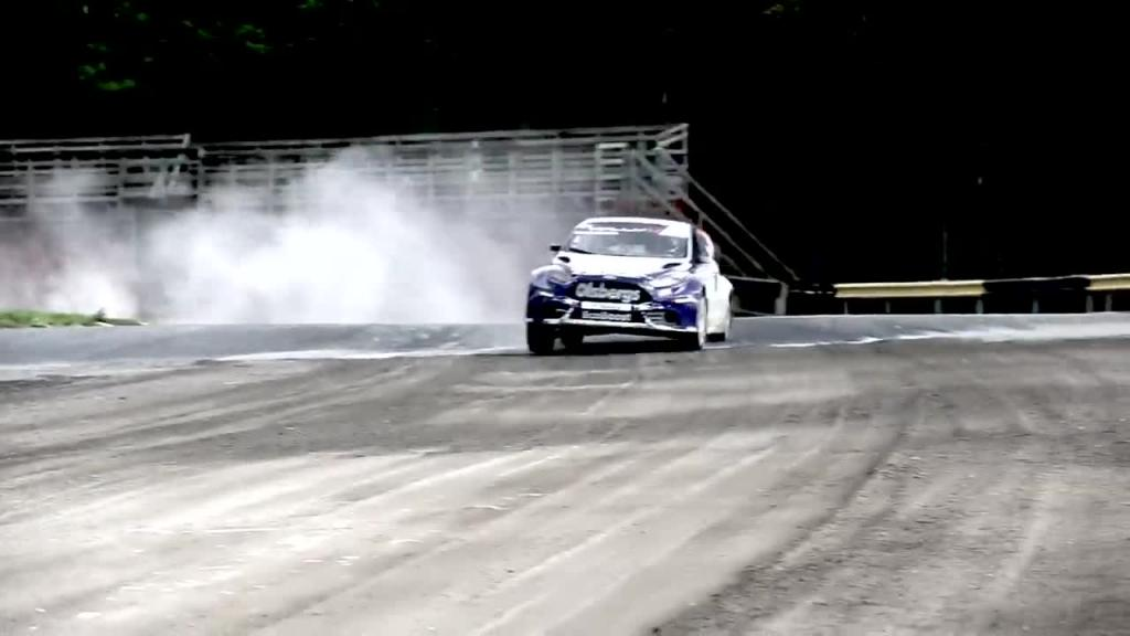 Richard goes FIA World Rallycross