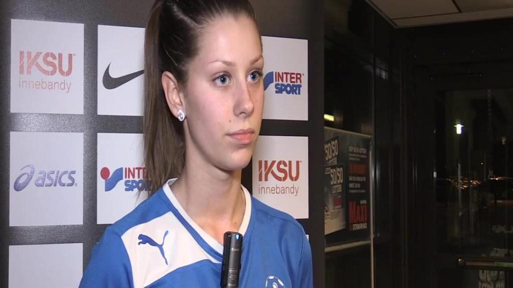 Anna Skyltbäck efter segern