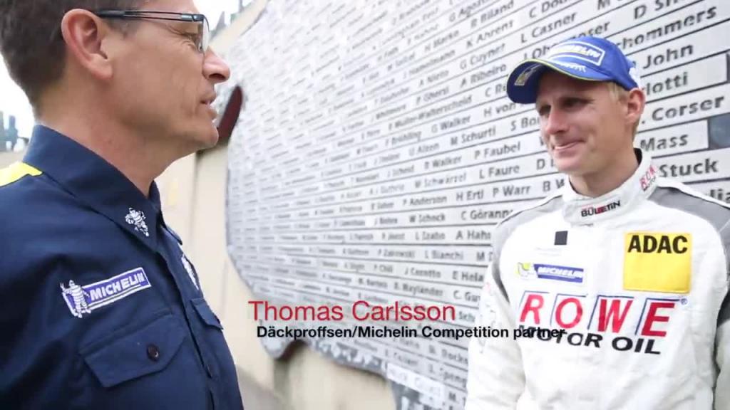Michelin Richard Göransson Nürburgring 24h 2014