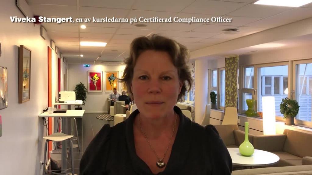 Certifierad Compliance Officer