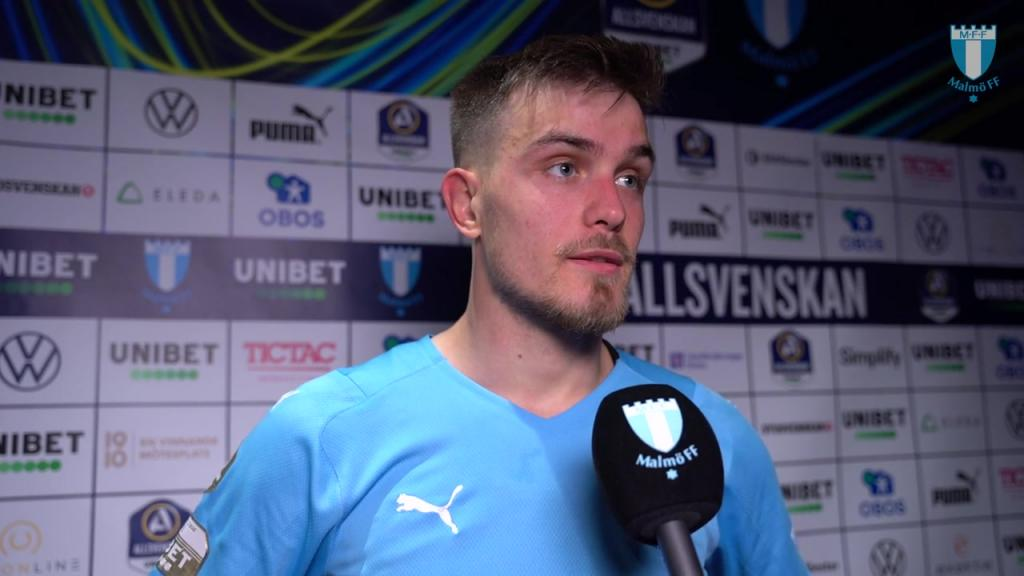 Pavle Vagic efter segern mot Varbergs BoIS FC