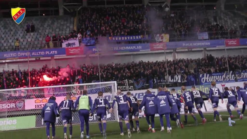 Segerfirande efter Göteborg borta