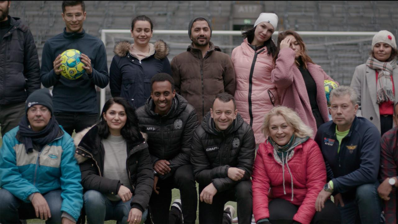 Samhällsmatchen i samarbete med Folkuniversitetet i integrationsprojekt