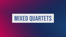 Mixed Quartet Finals 2019