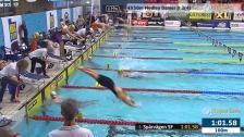 44 4X50m Medley Damer Jr Heat 3 SM/JSM 25m 2015