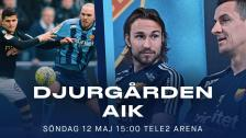 Derbyuppladdning inför Djurgården-AIK