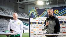 Se presskonferensen efter 2-2 mot Helsingborg