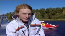 Formel 1 – Gustav Morin testkör och får sitt livs adrenalinkick