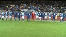 Spelarna tackas efter tre poäng mot ÖSK