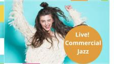 13/12 LIVE: Commercial Jazz Medel/Avancerad