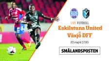 LIVE: Eskilstuna - Växjö DFF, damallsvenskan omg 5 - 20 maj kl 17:00