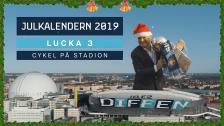 Kotschacks julkalender – lucka 3: Cykel på Stadion