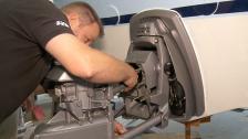 Motorbyte – del 5/6 montering av drev, kalibrering och finjustering