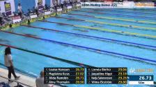 15 100m Medley Damer A-Final SM/JSM 25m 2015