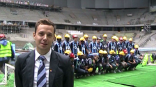 Magnus Edgren om möjligheterna på Tele2 Arena