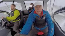 Konsten att laga lunch i 30 knop på ett upprört hav