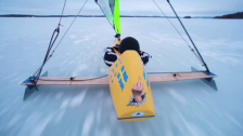 Rekordsnabb segling med isjakt