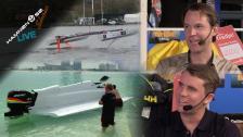 Formel 1-förare och driva båtar med solpaneler