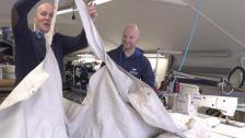 Nya dynor, innertak och kapell ger vraket nytt liv!