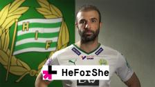 Hammarby ambassadör för HeForShe