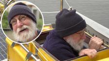 Sven Yrvinds inför seglatsen till Nya Zeeland