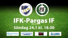 IFK Mariehamn - Pargas IF, 24 Januari 2021