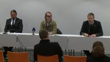 Presskonferensen efter GAIS-DIF 2012