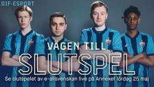 DIF E-sport | Vägen till slutspel i E-Allsvenskan