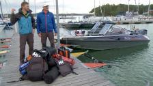 Vi hittar finska båtfolkets gömställe i Nagu