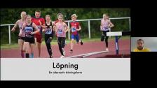 Löpträning och teknik. 2020-06-23