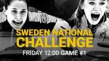 Game #1 – Sweden National Challenge