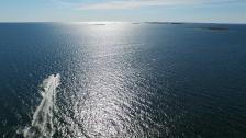 Över havet och hem mot Stockholm!