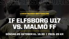 SM–FINAL U17: IF Elfsborg – Malmö FF