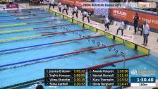 19 200m Bröstsim Damer A-Final SM/JSM 25m 2015