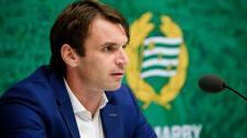 Presskonferensen efter vinsten mot Maribor