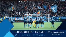 Djurgården-IK Frej 2-1 Svenska Cupen