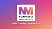 Male Quartet Competition (Finals)
